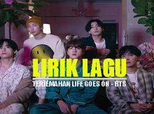 Arti Lirik Lagu Life Goes On - BTS dan terjemahan